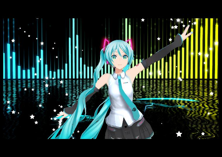 9月12日 ~東京ゲームショーにて先行試遊が決定  PSVRに「初音ミクVR」が登場! ~9月13日よりプレオーダー受付開始~